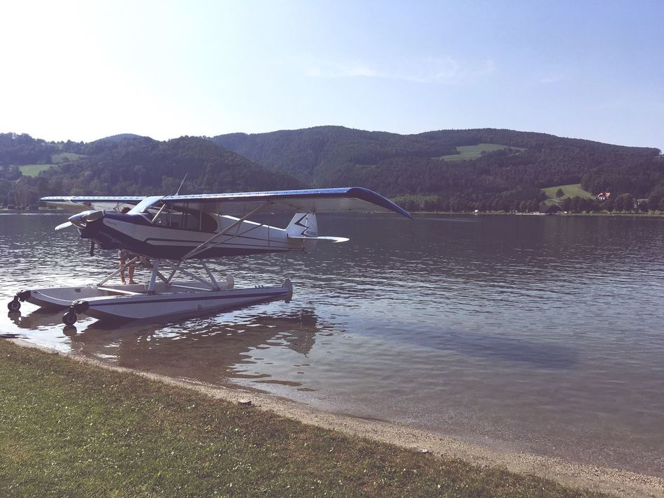 Water Lake Seaplane Mountain