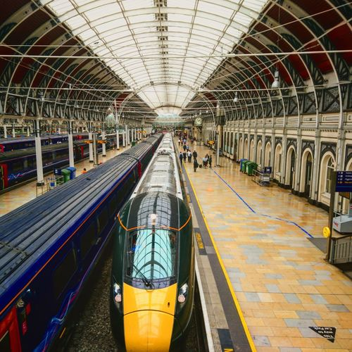 Transportation Day Architecture Mode Of Transport Travel Destinations Transportation Journey Trains Railway Public Transportation Rail Transportation Vacations London English Train - Vehicle Railroad Station Platform Passenger Railway Station England, UK Class800 Greatwesternrailway GWR Paddington Paddington Station, London Uk Travel