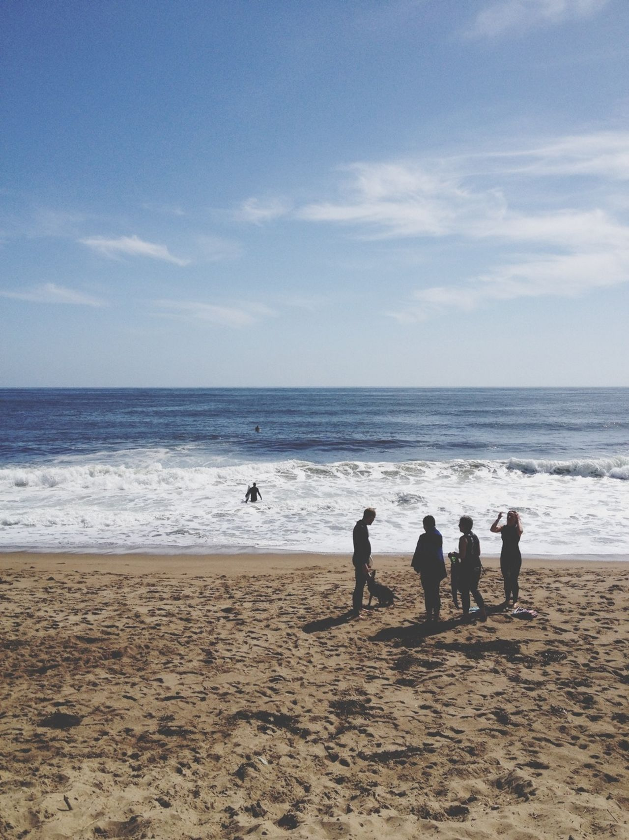 Beautiful stock photos of group, Beach, Blue, Coastline, Day