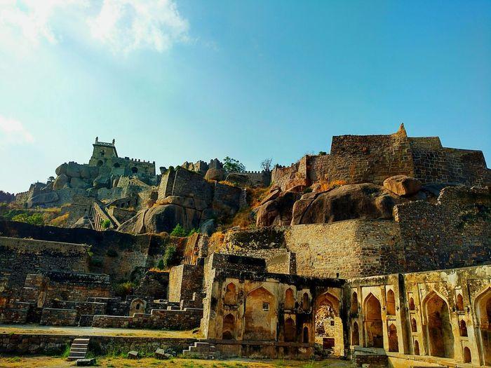 Golkonda Fort, Hyderabad Hyderabad Fort Heritage Architecture Historical Monuments Moto X Play
