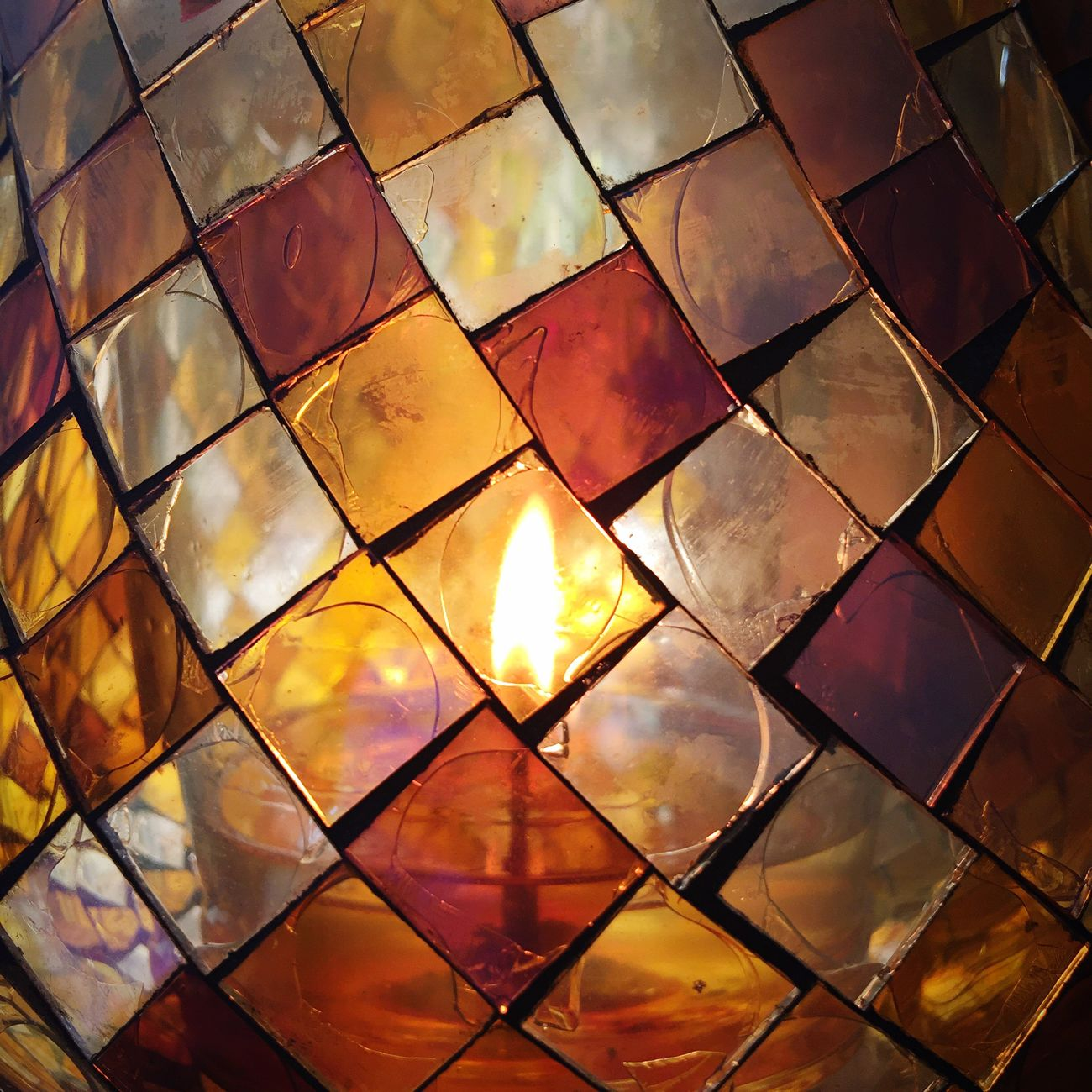 Candle light Stained Glass Candle Light Candle Flame Candle Taking Photos Taking Pictures Photography EyeEm Gallery Check This Out EyeEmBestPics Lines, Shapes And Curves Picoftheday EyeEm