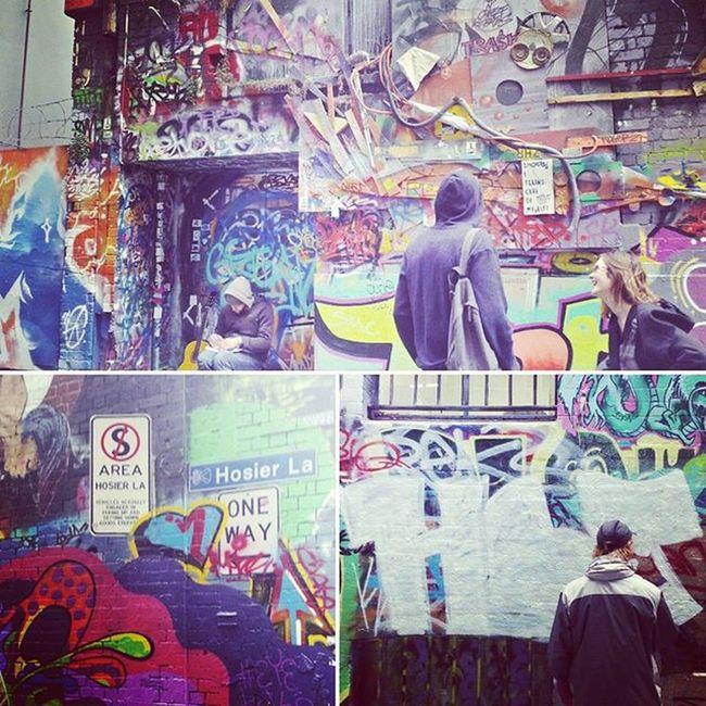 Strolling through Hosier Lane Streetart Artvscrime Grafitti Urbanlife Holiday Melbourneculture NX500Colour