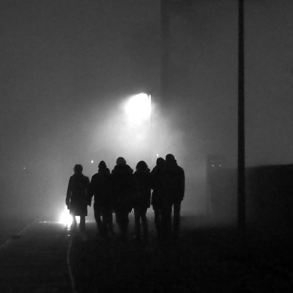 Beautiful stock photos of group, Companions, Contrasts, Dark, Electric Lighting