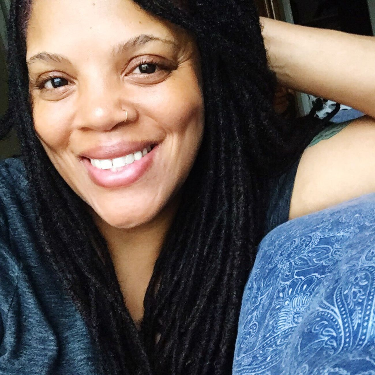 Saturday evening.... That's Me From Today Relaxing Enjoying Life Locs Empress Lioness Taking Photos Natural Beauty