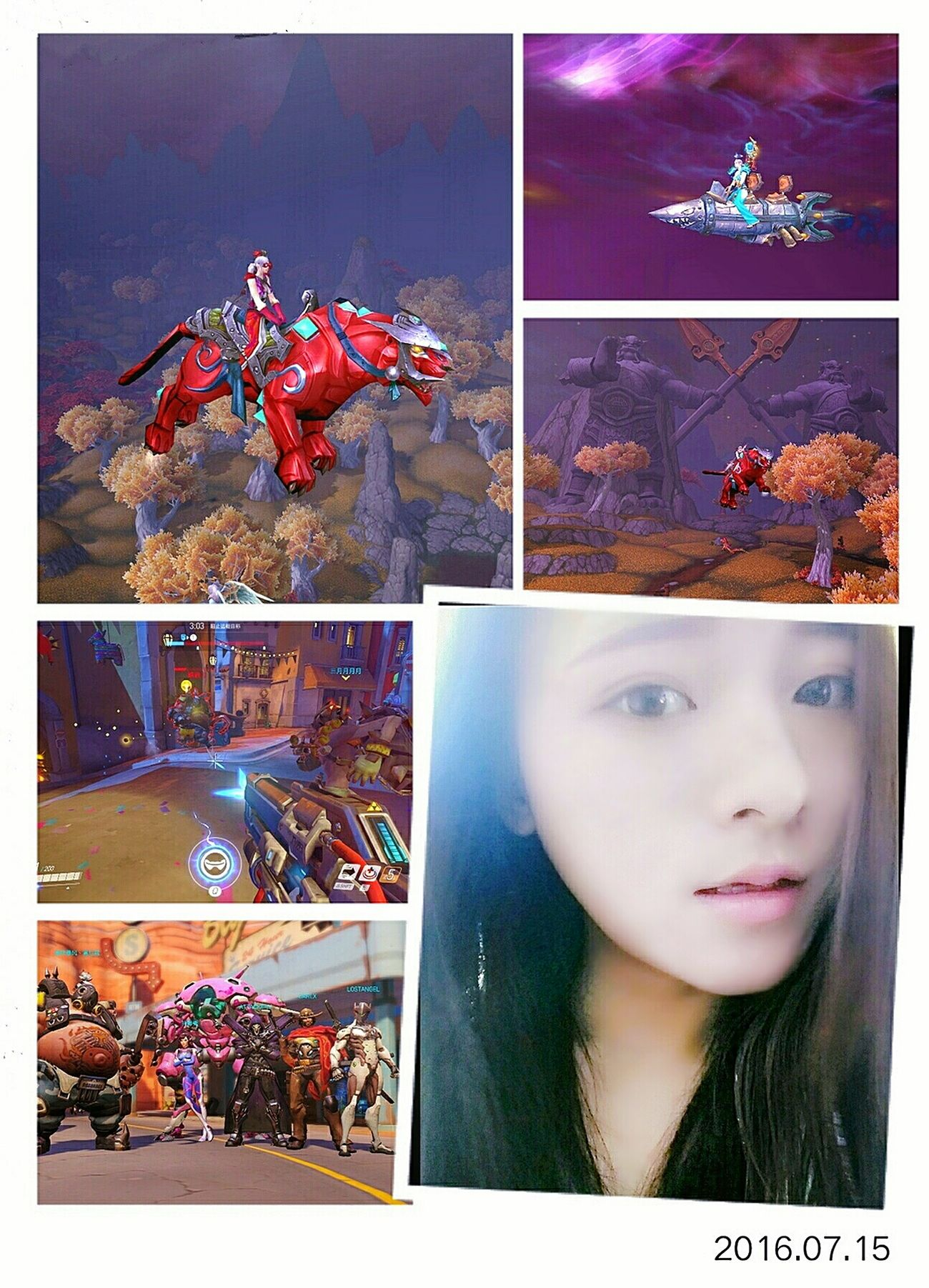 Game Time  Playing Games Game Games Onlinegame Rpg Rpggame RPGの世界 ゲーム Overwatch Warcraft Hi! That's Me Me Selfie Selfies Collage