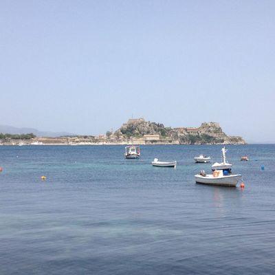 Corfu Island.