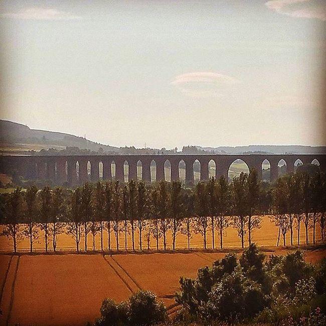 Culloden Viaduct Scotland Inverness Trains