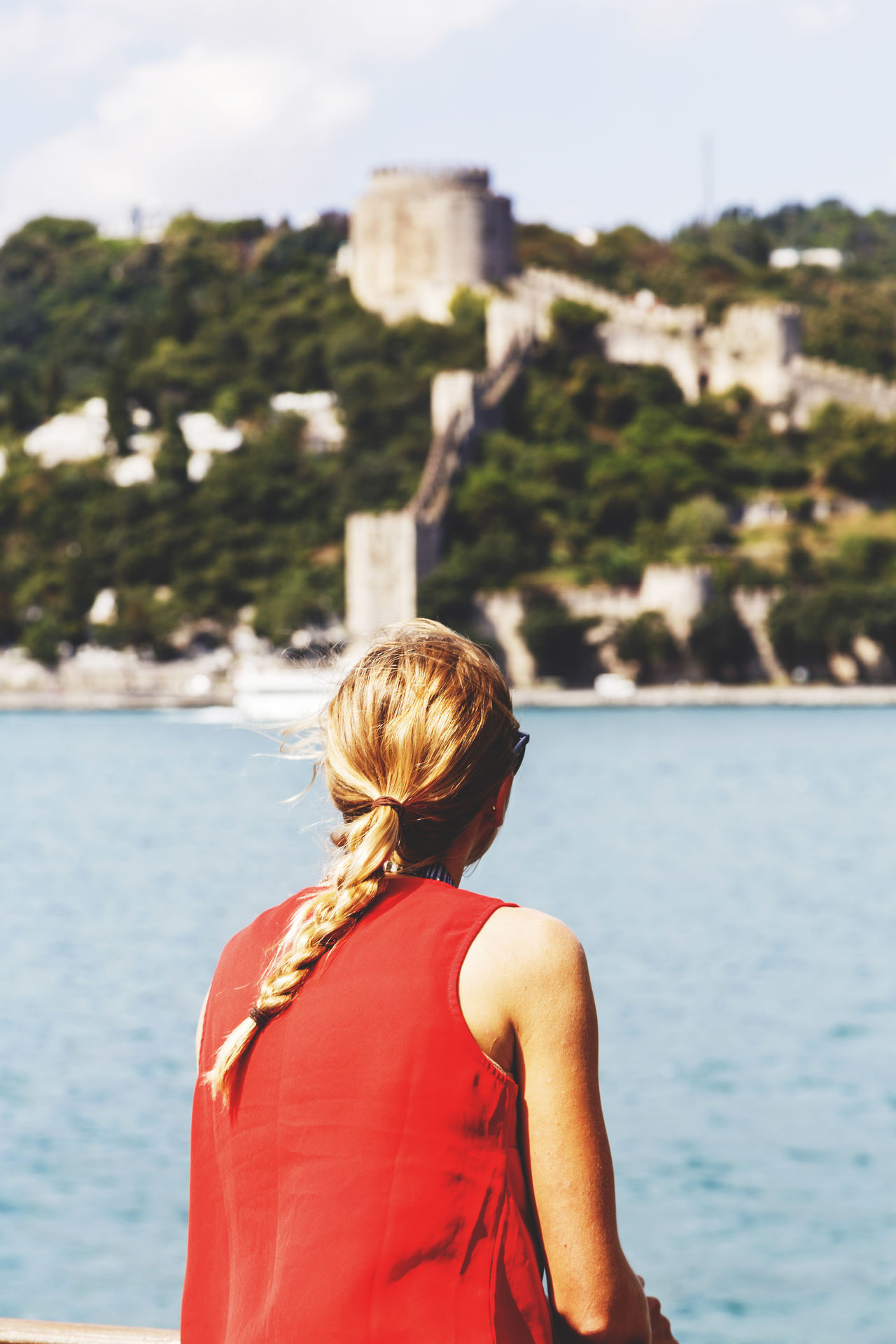 Beautiful stock photos of istanbul, Beauty In Nature, Blond Hair, Casual Clothing, Day