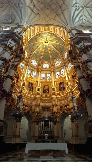 Architecture Religion History Built Structure Spirituality Trip Catedral Granada SPAIN Church Iglesia Viajar Aroundtheworld No People