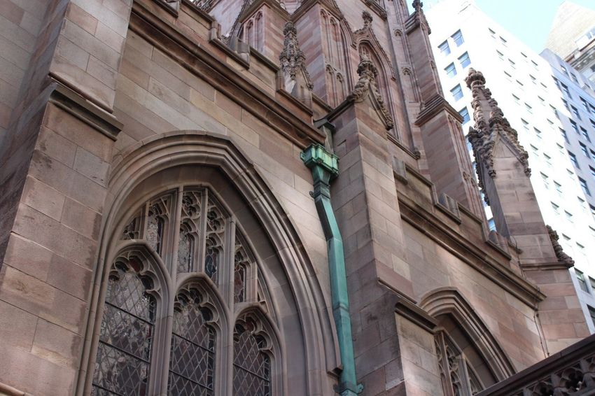 i love new york💕 Architecture Low Angle View Building Exterior Built Structure No People Day Outdoors