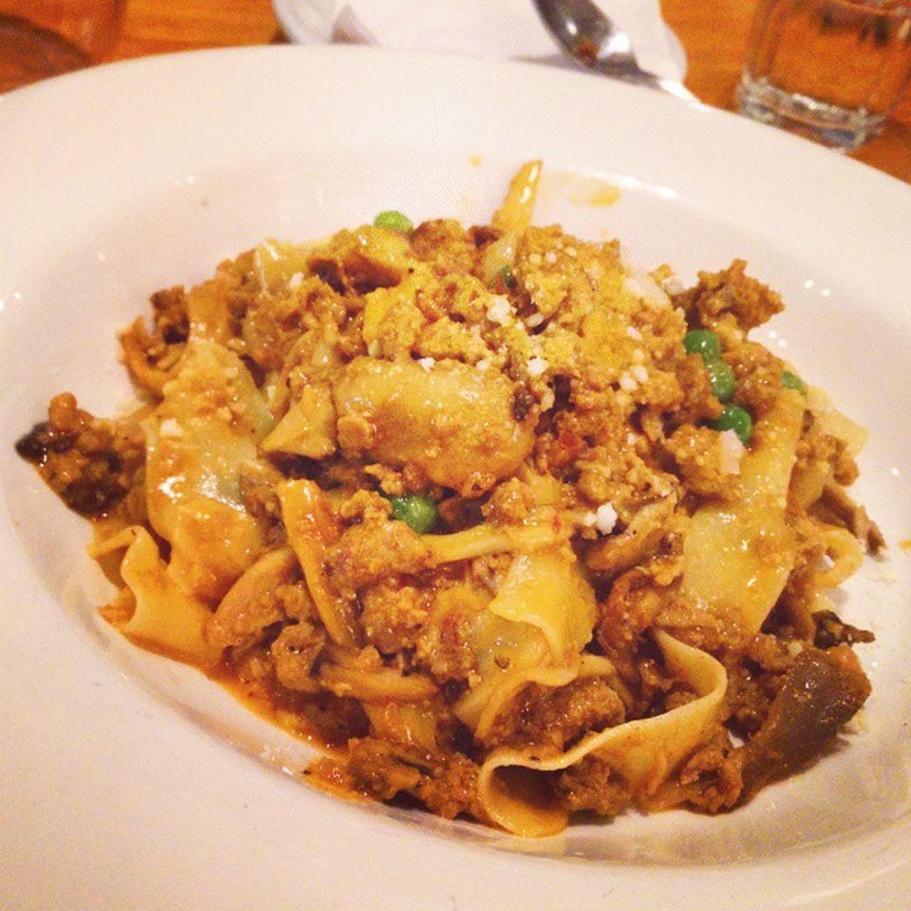 Pappardelle alla Iosa at Terroni Pasta Pastalover Italian Cruisine Instafood Foodporn