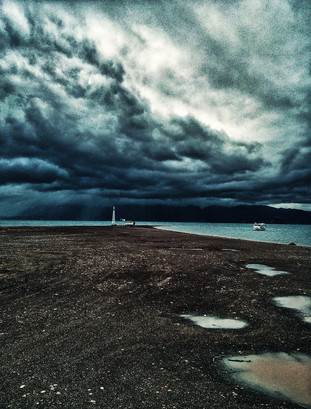 The Great Outdoors With Adobe First Eyeem Photo Mountains Mountain Rain Storm Nature Sea Sea And Sky Naturelovers Stormy Weather Beach Beauty In Nature Greece