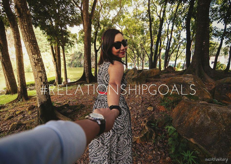 The Five Senses Relationshipgoals Eye4photography  Love Couple Relationship Nikon Scenery Walking Around Girlfriend