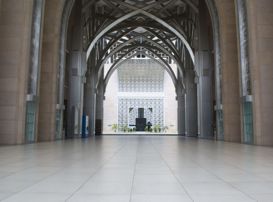 Arch Architecture Building Exterior Built Structure Day Exterior Design Indoors  Islamic Architecture Islamic Center Landmark Mosque No People Tranquility
