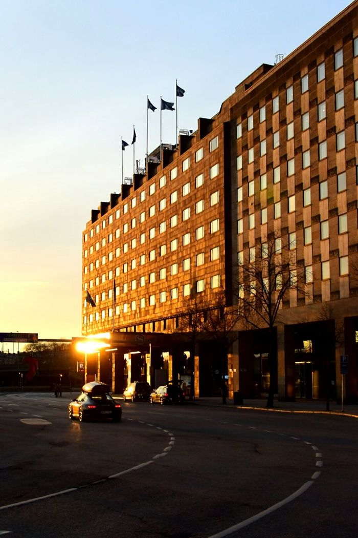 Architecture Tegelbacken Hotel Hotel Sheraton The City Light Sunset Stockholm