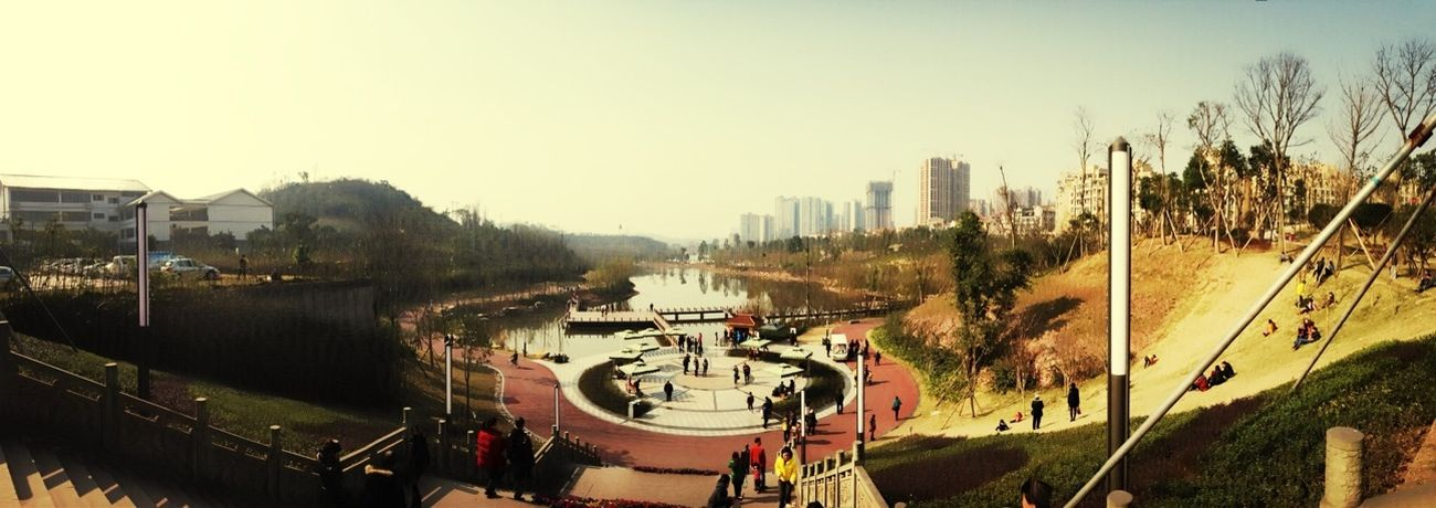 Town In Western China