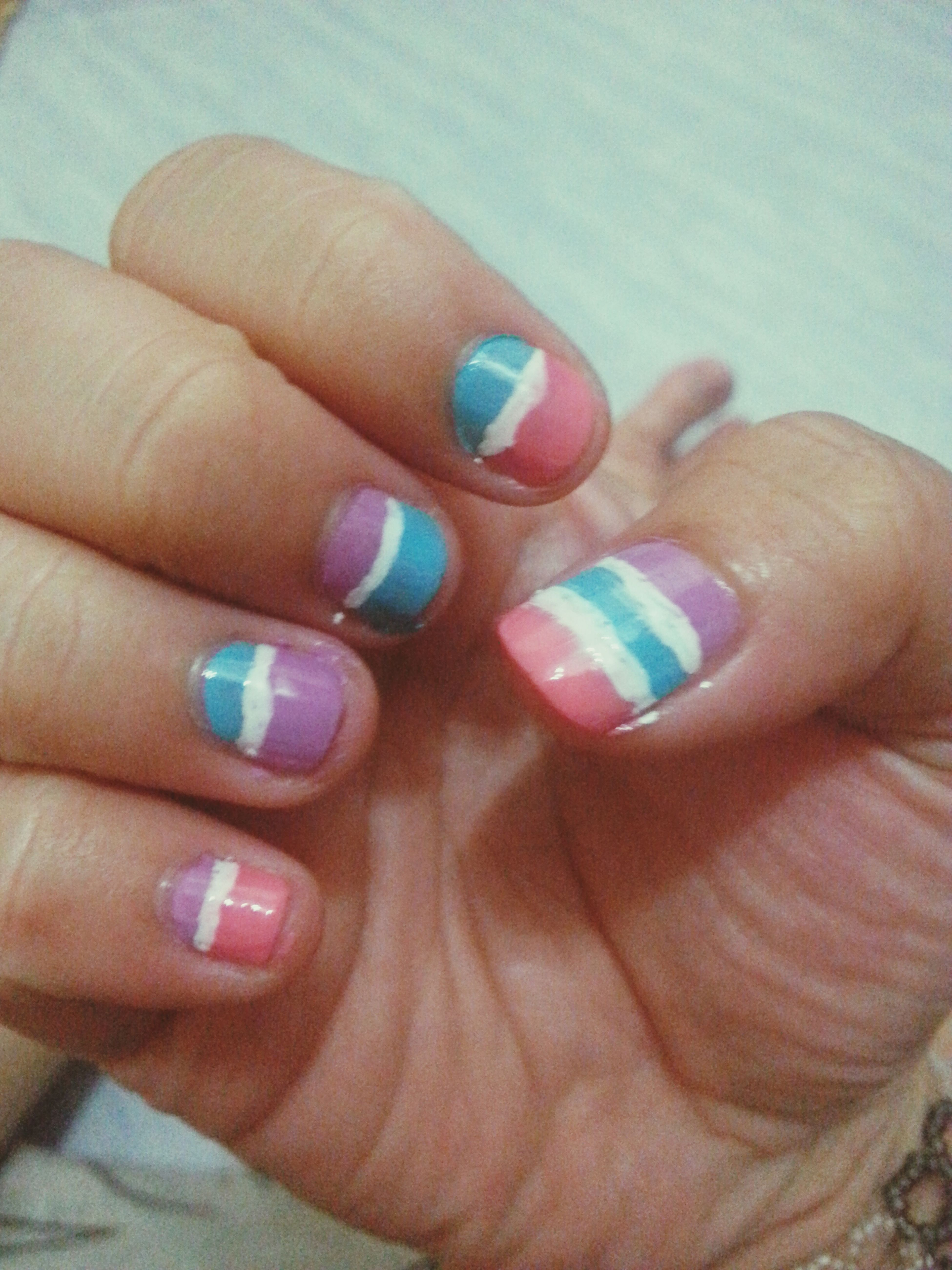 Nails Done by cousin. Thanks cousin.
