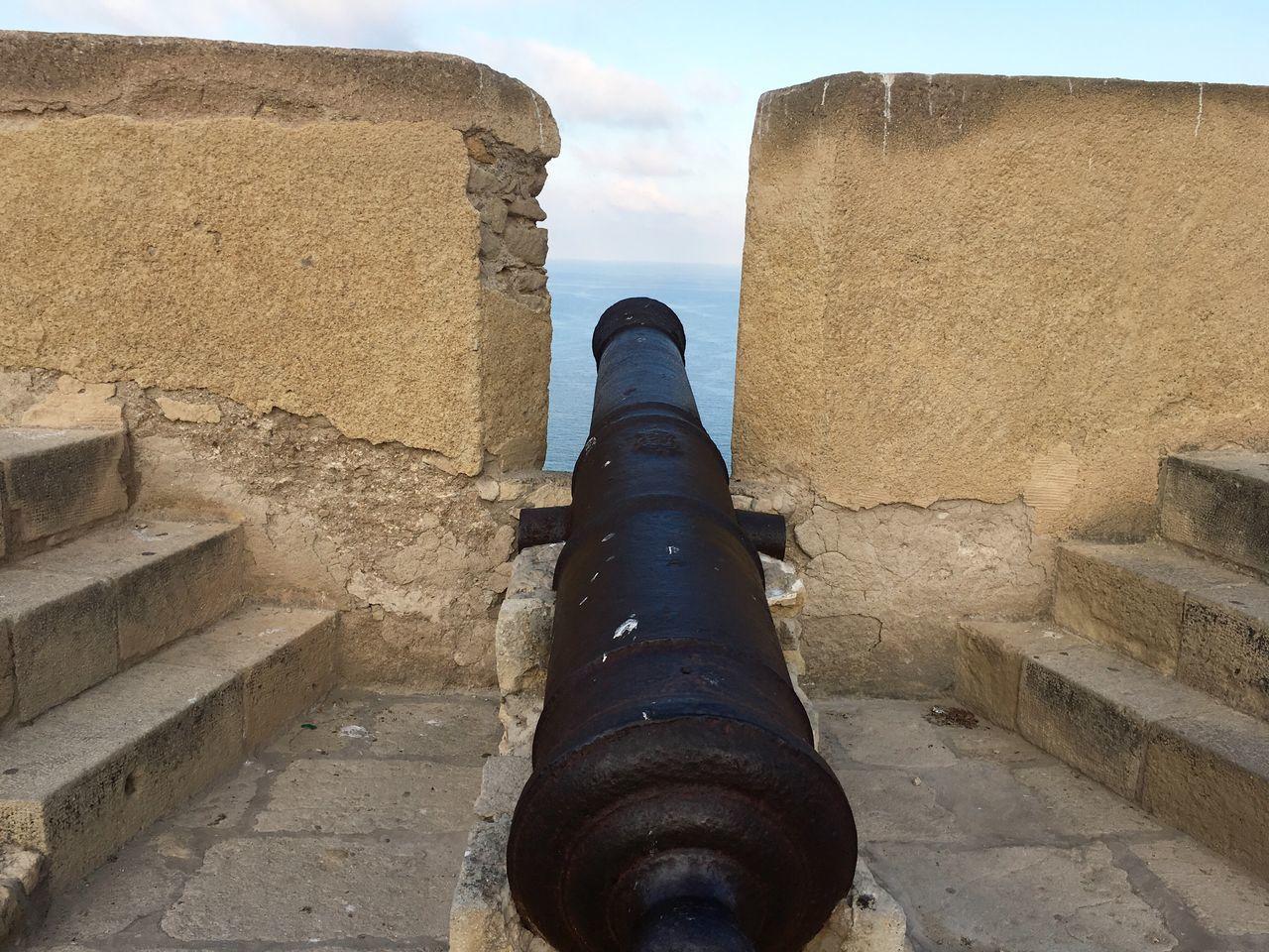Hello World Castle cannon cañón del castillo Castillo De Santa Bárbara Witness history testigo de la historia