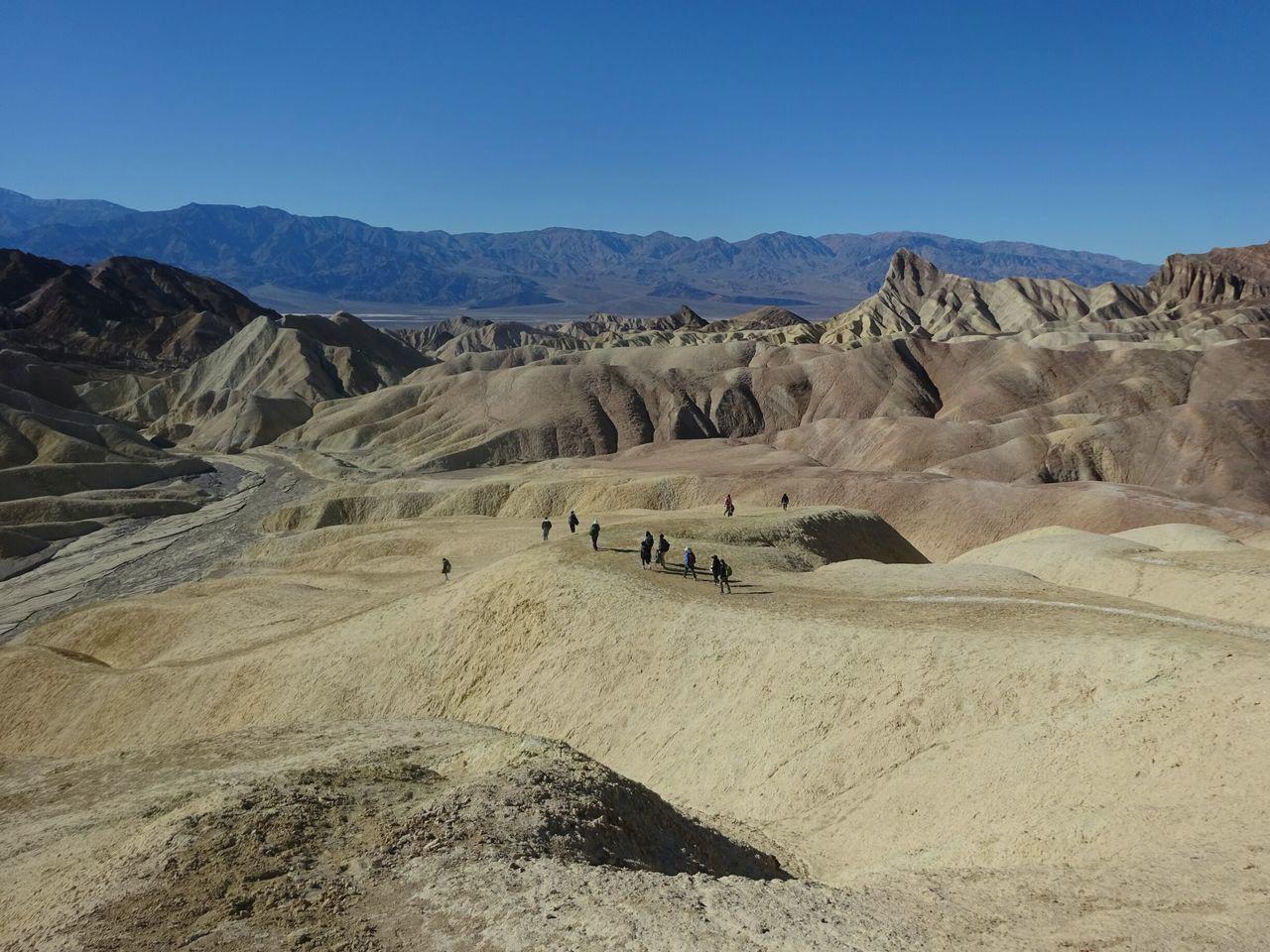 Field School 2016 Death Valley National Park SoftRock Landscape Mountains Basinandrange