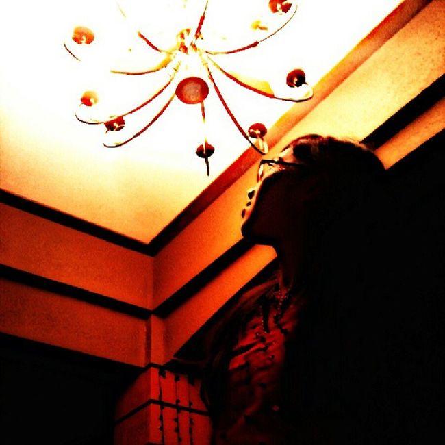 Dreadful day. Enrollment -_- Stun Lights Nganga chandeliersstunsme