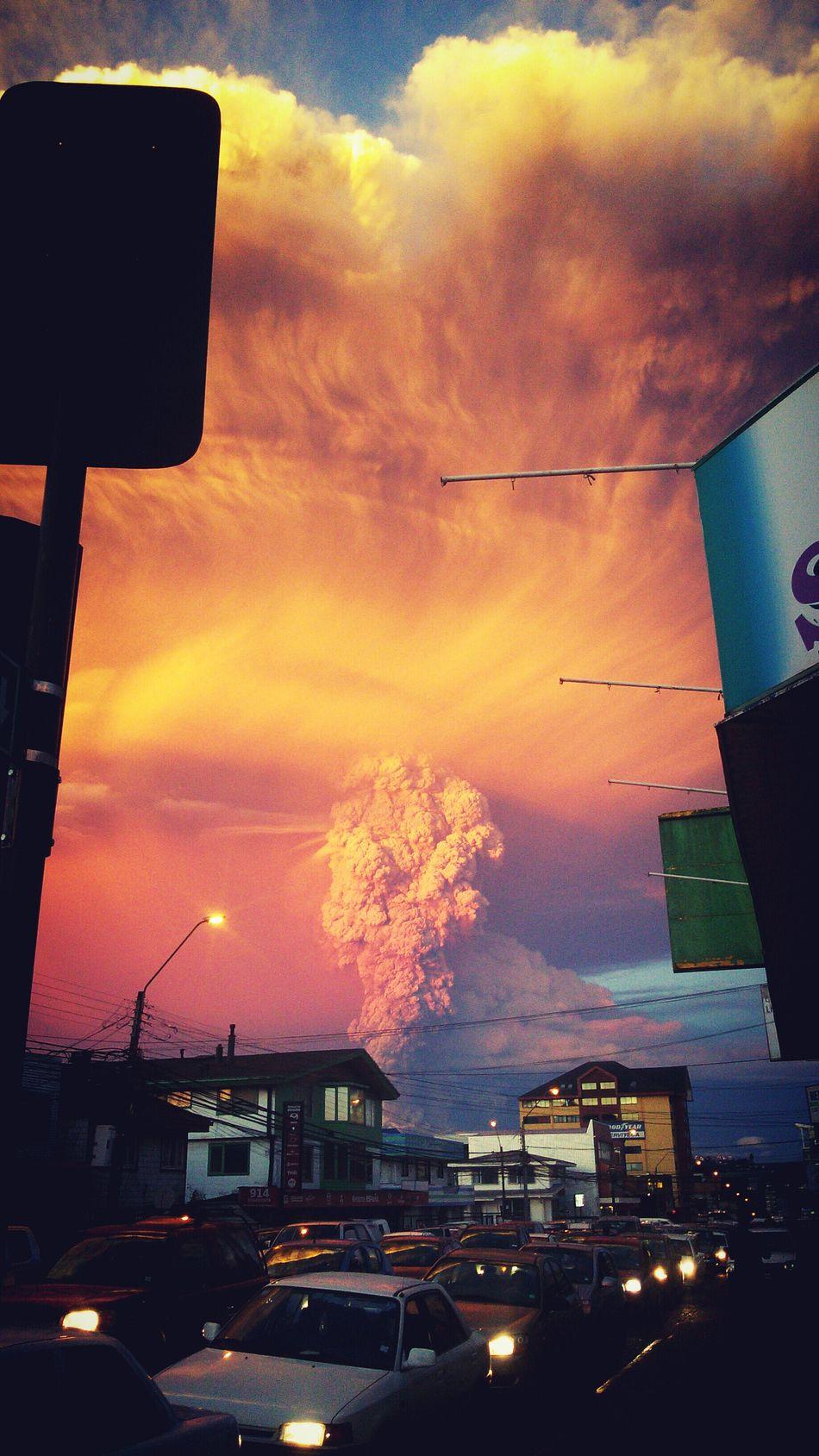 Erupcion Volcan Calbuco Volcano Eruption EyeEm Best Shots Hello World Eyemteam Volcanoes
