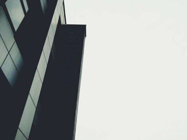 Architecture Clear Sky Building Exterior Tall - High Outdoors Sky Office Building Building Story Modern Fine Art Lines Shapes And Lines The Week Of Eyeem