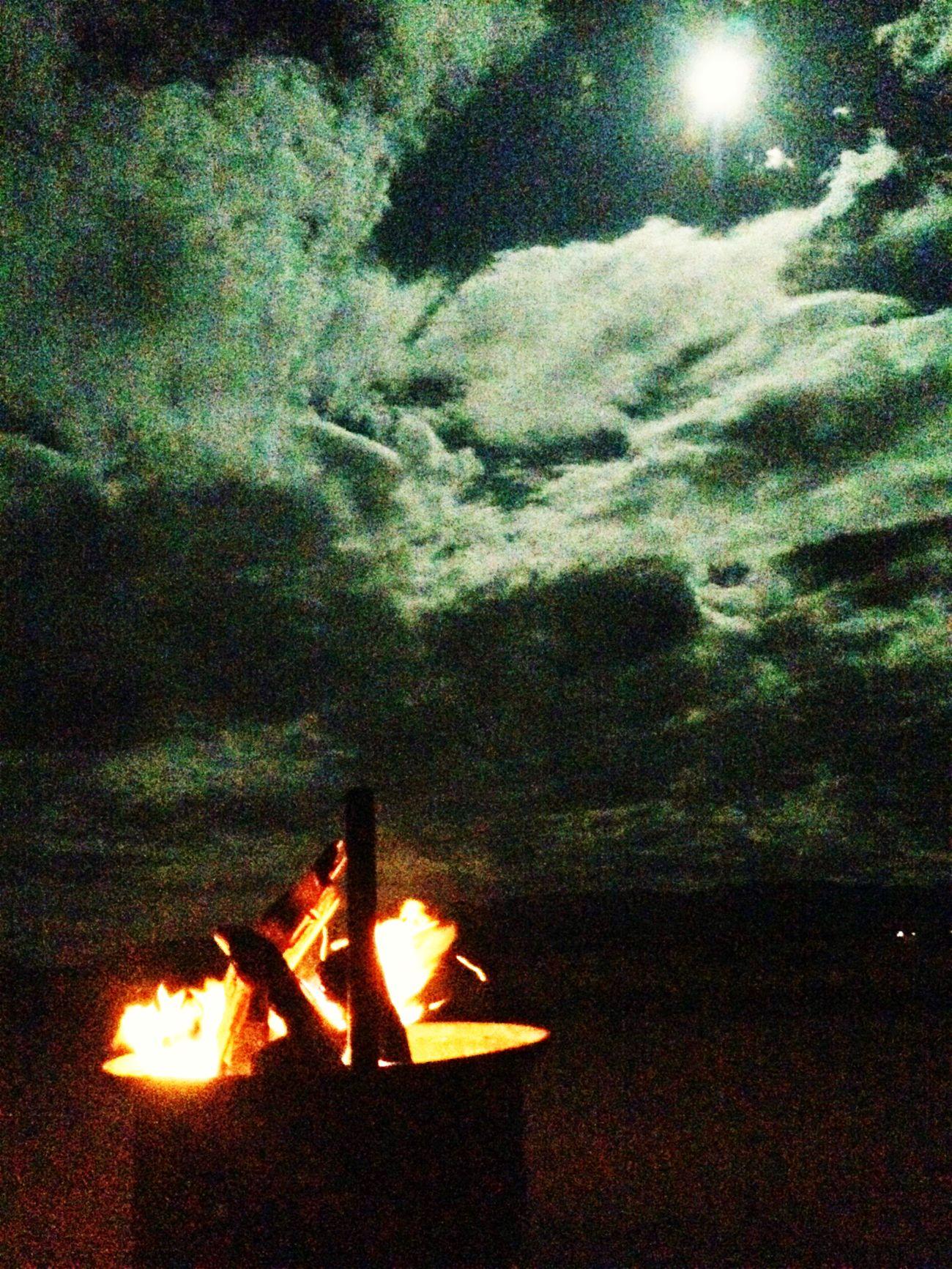 Campsite Fire Moon Nambwzanam15