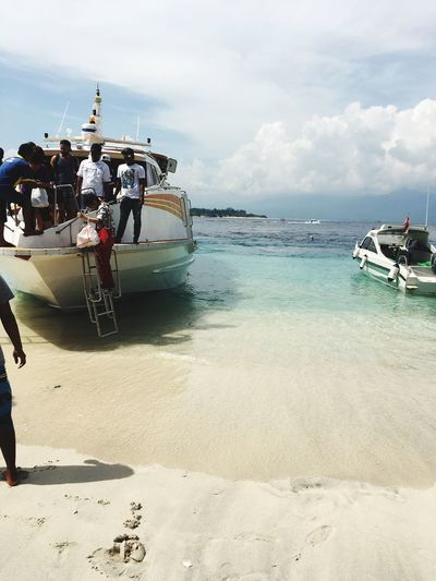 Gili Trawangan Vacation Time Love Sea Beatiful Blue Sun Dreams Iphonephotography