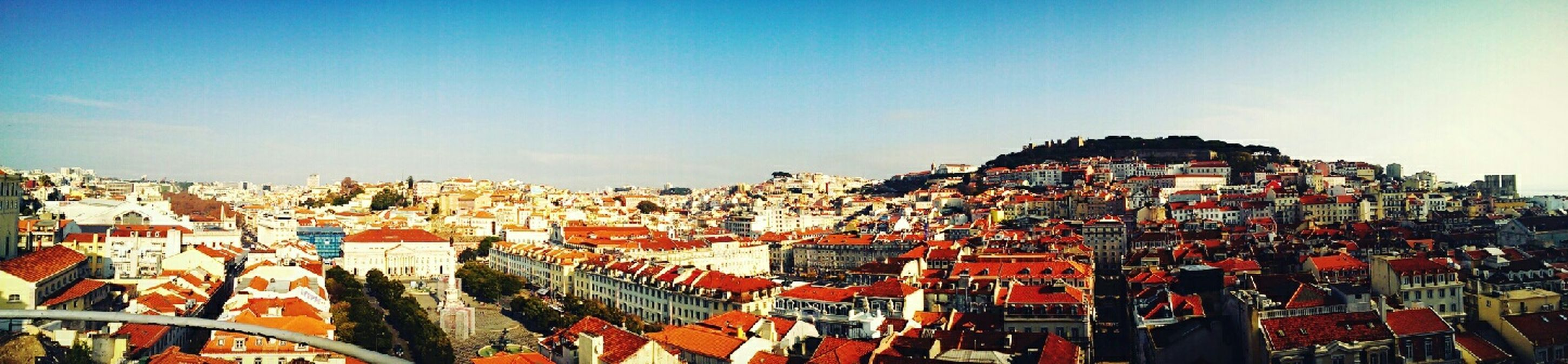View on the city of Lisbon from Elevador De Santa Justa elevator, Urban Landscape Urban Architecture From My Point Of View Lisboa EyeEm Best Shots Traveling