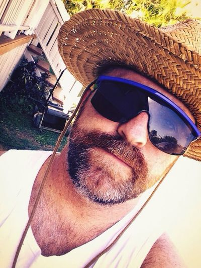 Summer Hat Goggles Lawnmowerman