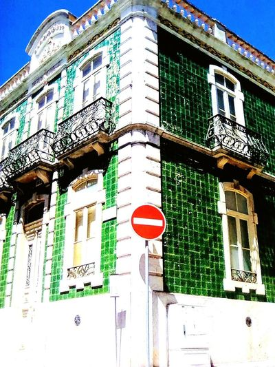 Architecture Building Exterior Built Structure Low Angle View Day Outdoors Window No People Sky Travel City Figueira Da Foz, Portugal Tranquility EyeEmNewHere The Street Photographer - 2017 EyeEm Awards Structure, Construction, Edifice, Erection; Property, Premises, Business Finance And Industry Architecture Houses And Homes