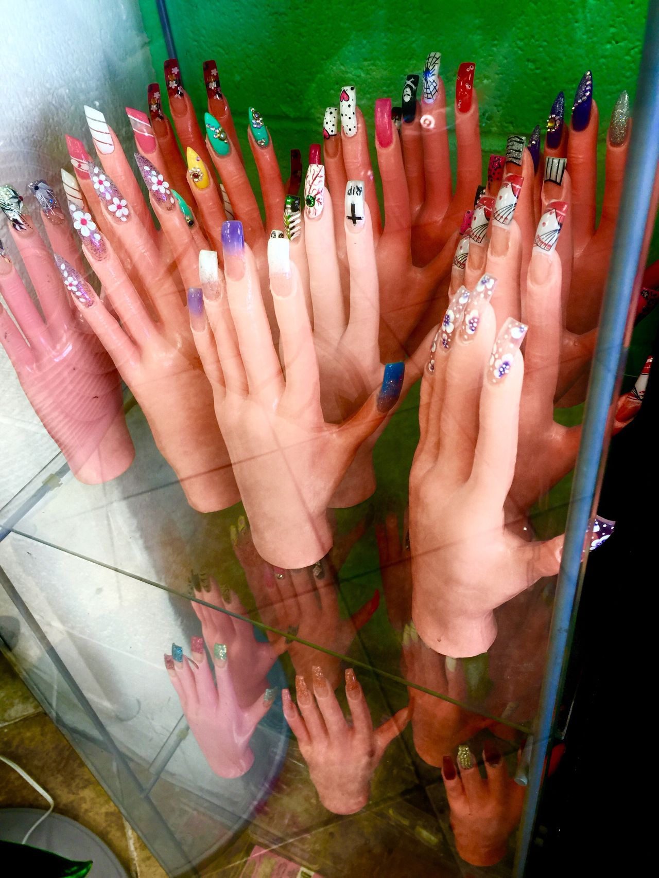 Which one you like? Human Hand Human Body Part Multi Colored Green Color Women Large Group Of People Palm Crowd People Adult Outdoors Adults Only Day Nails Nail Salon Nail Polish EyeEmNewHere