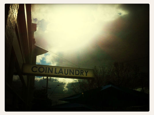 Coffee at Coin Laundry Cafe by Ellen