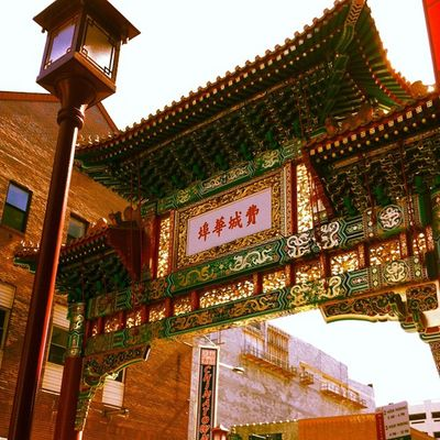Just chillin' in China Town ?????