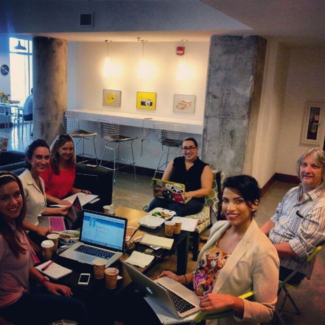 Just barely squeezed everyone in at our Philanthrofest PR meeting w/@JLPR @immonicalynne @estrellasibila @soulofmiami @MissJaynieH SocialGood