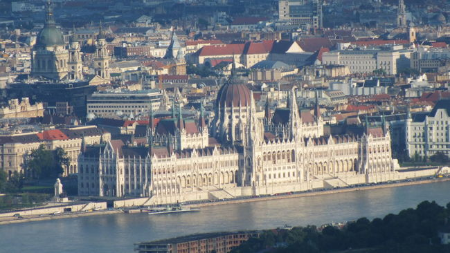 #budapest #danube #Hungarian Parliament #hungary #parliament Aerial View Architecture Built Structure Capital Cities  City City Life Cityscape Day Modern Nature No People Outdoors Residential Building River Tourism Travel Destinations Water