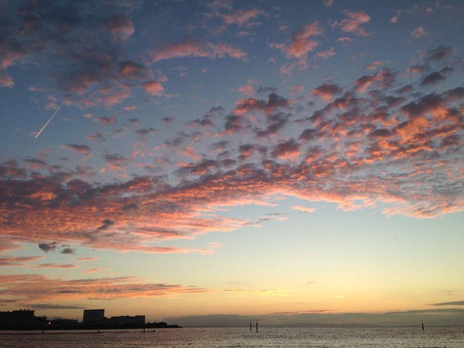 Beautiful Sunset Sunset Sky Clouds Sea And Sky