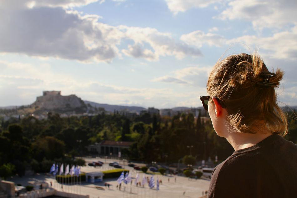 Beautiful stock photos of greece, 20-24 Years, Acropolis Of Athens, Ancient, Athens