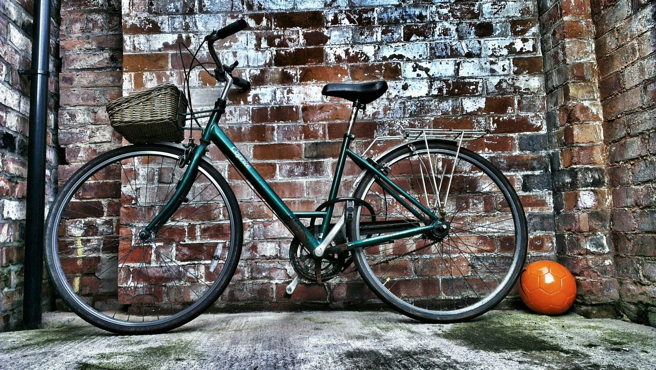 Beautiful stock photos of bike, Bicycle, Brick Wall, Day, Football