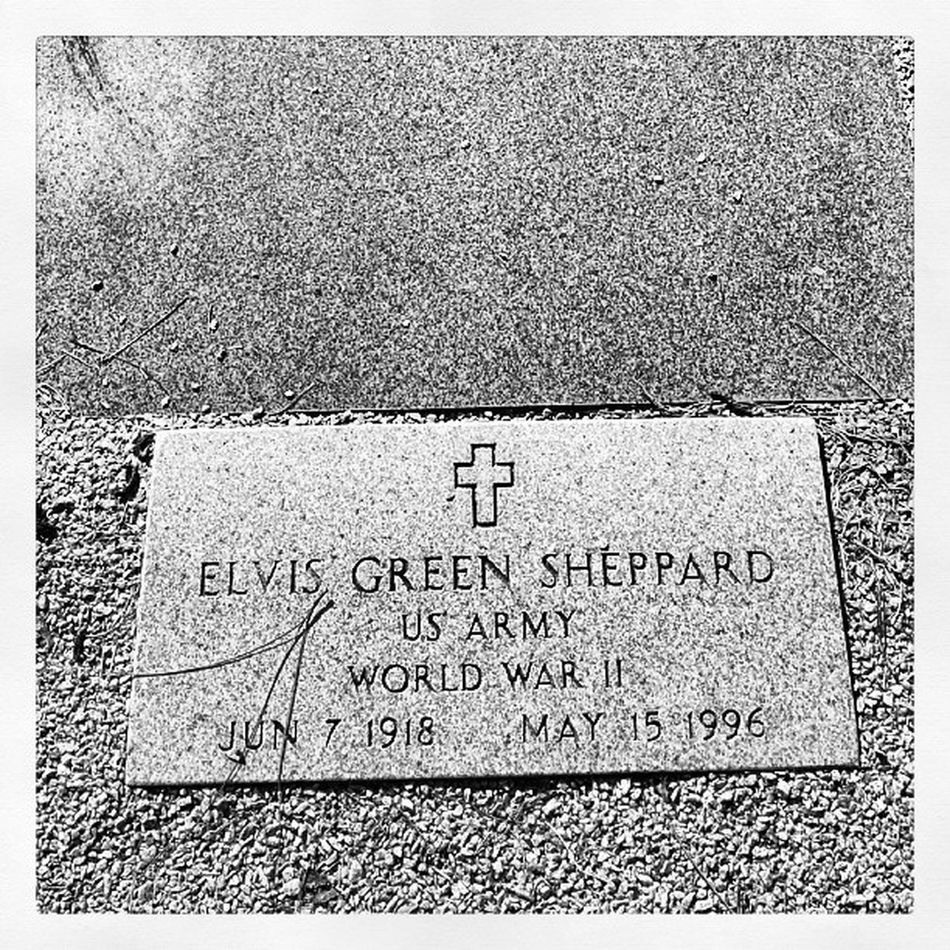 I wish I knew more of his stories Grandfather Shep Veteran Family georgia wwii