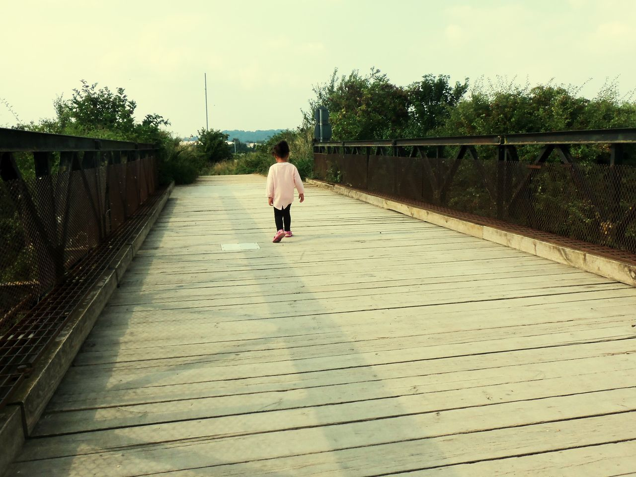 Bridge Over Water Bridge - Man Made Structure Walk Of Life Walk Of Innocence Toddlerswag Journey Into The Unknown Beautiful Popular Photos