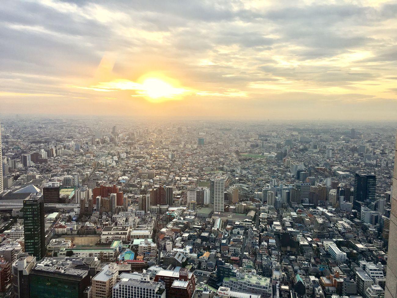 City Cityscape Building Exterior Architecture Sky Built Structure Cloud - Sky No People Tokyo