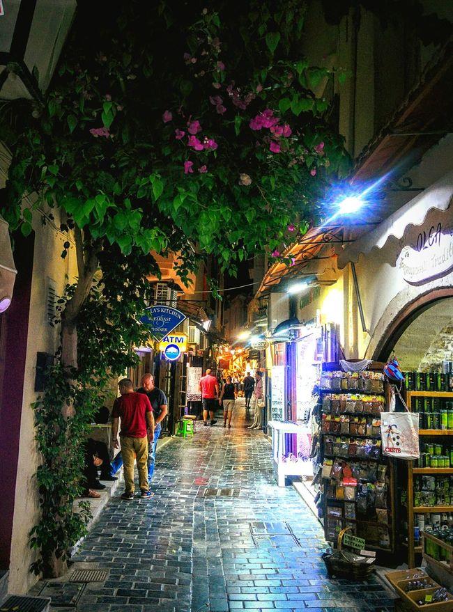 Alleys in Rethymno, Crete island, Greece Greece Crete CreteGreecre VisitGreece Beutiful Place  AlleyShots Islandlife