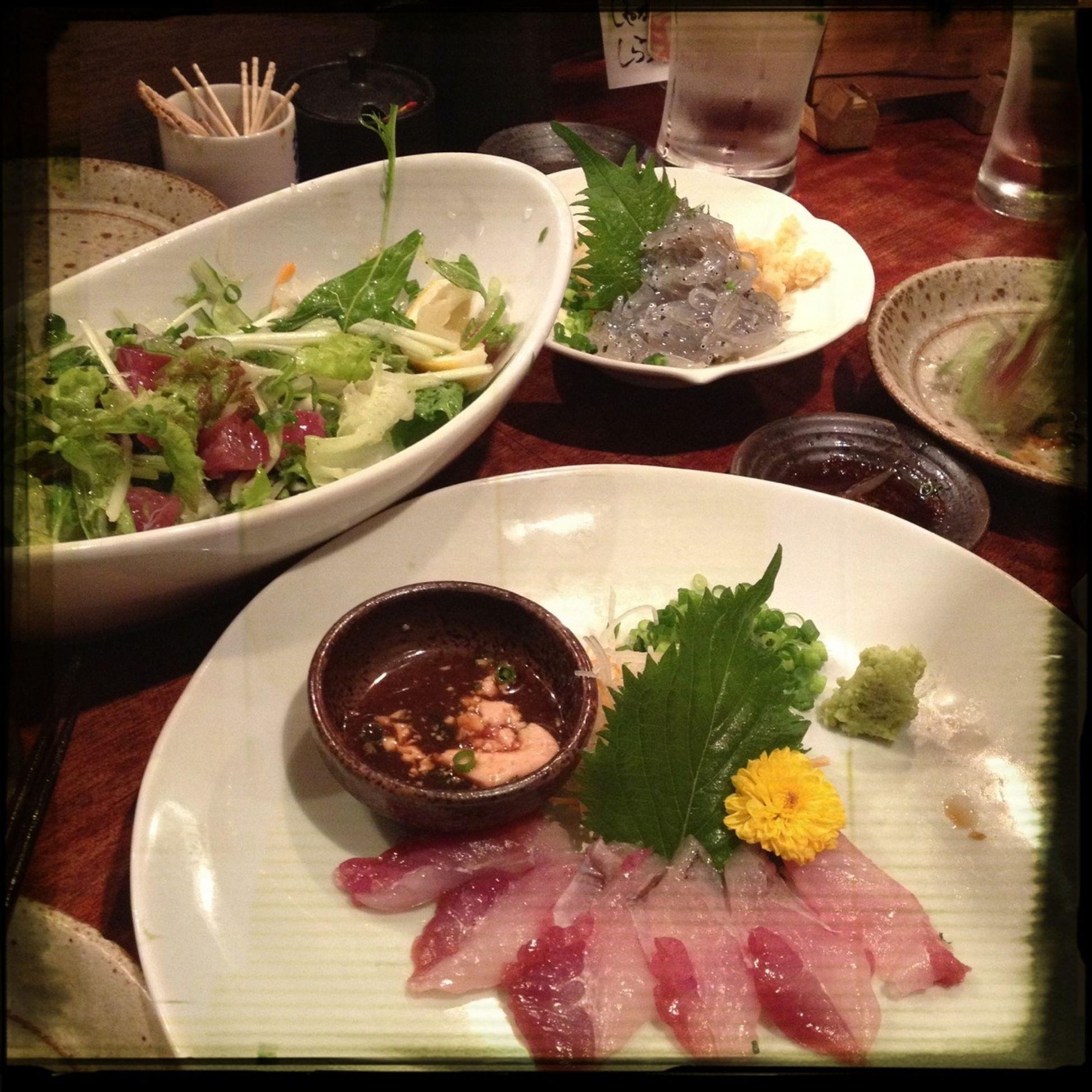 Drinking Fish Sashimi