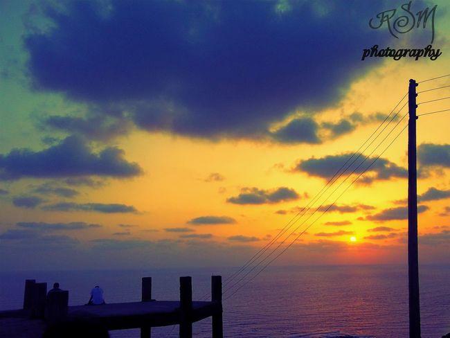Sunset at dapoli