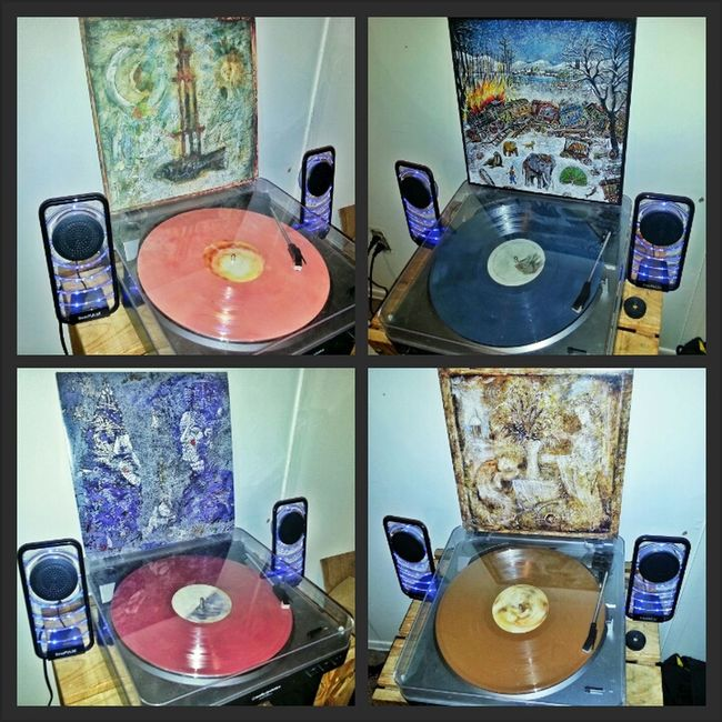 mewithoutYou - 'Brother Sister', 'Ten Stories', 'Catch For Us the Foxes', & '[A --> B] Life' Music Mewithoutyou Vinyl Records Audiophile MwY