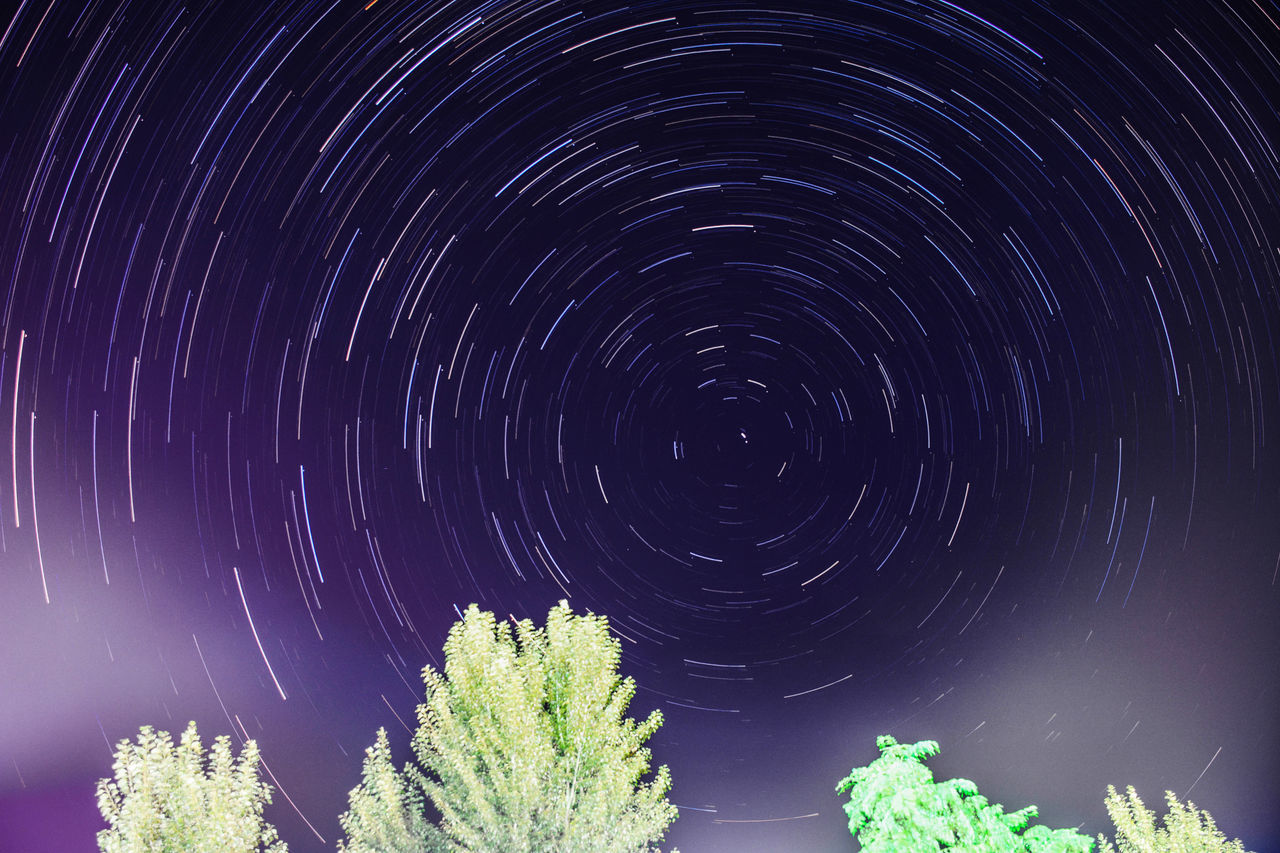 Beauty In Nature Nature Night Night View Nightphotography Outdoors People And Places Sky Space Star Star Field Star Trail Stars Startrails Startrek