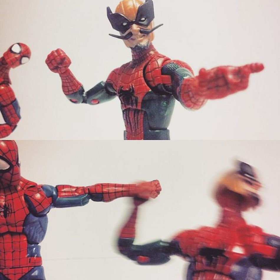 """Bwahahahaaa,boy wait till the avengers get ah load of m-"" Marvellegends Batroc Spidey Spiderman Hasbro Amazingspiderman Disney Toys4life Articulatedcomicbook Webhead Webslinger Peterparker Avengers Figures Figurecollection Collection Collector Actionfigures Infiniteseries Actionfigurephotography Civilwar Baf Nerd Comics Tcb_flyupandaway marvelentertainment toysrmydrugs toyslagram"