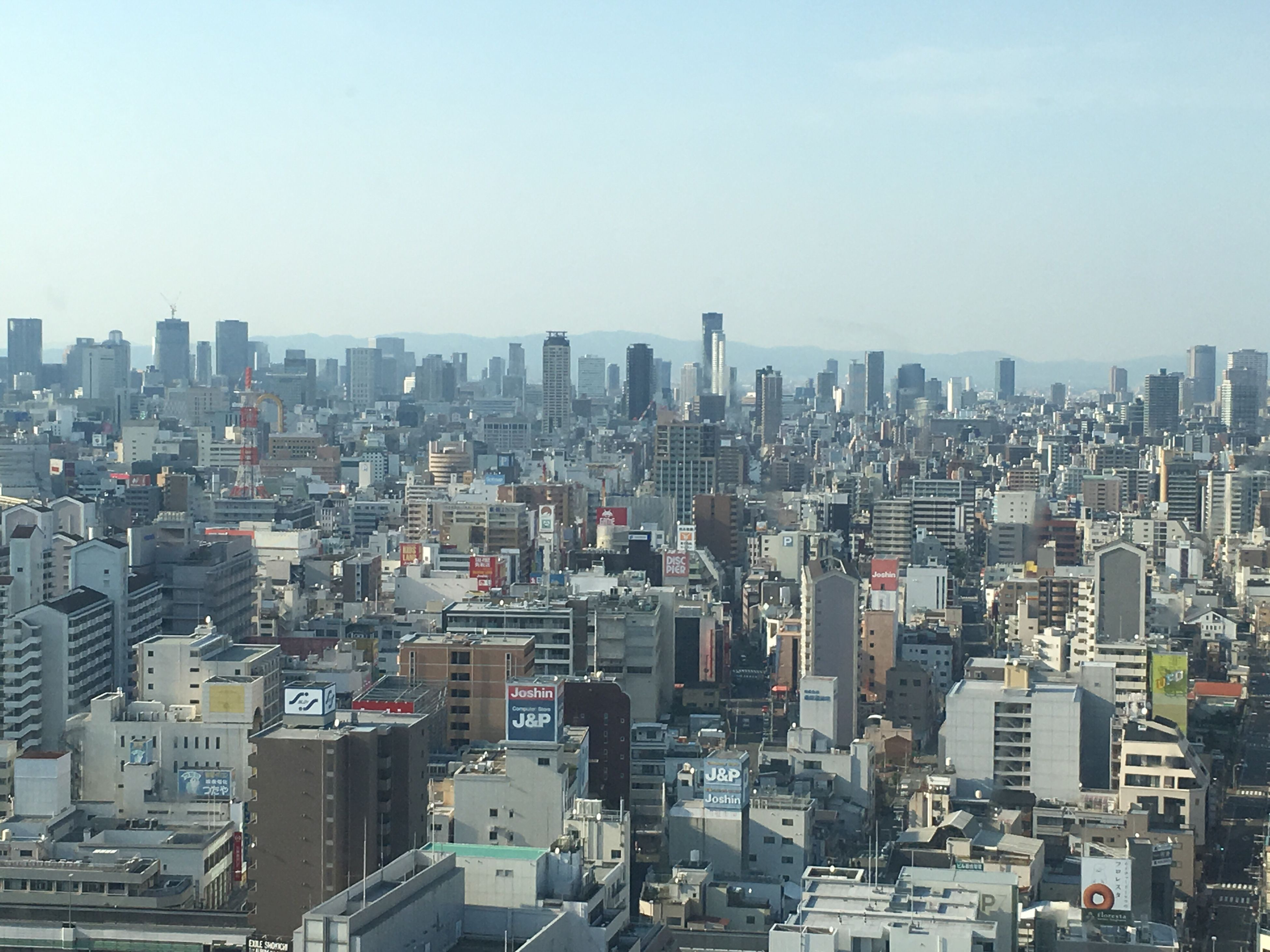 city, cityscape, building exterior, architecture, built structure, crowded, skyscraper, clear sky, high angle view, copy space, tall - high, tower, city life, office building, residential district, modern, urban skyline, capital cities, residential building, tall