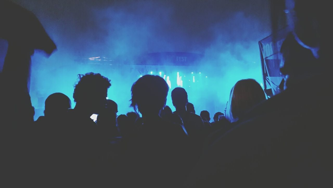 Music Festival Moments By Fltr Magazine Enjoying Life Silhouette People